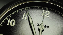 Military vintage watch Stock Footage