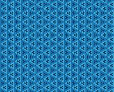 Stock Illustration of abstract background blue triangles