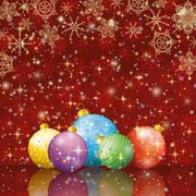 Christmas holiday background Stock Illustration