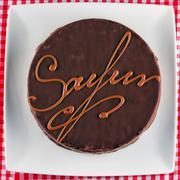 Sacher torte Stock Photos