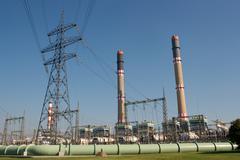 Powerplant Stock Photos