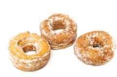 Sugar donuts Stock Photos
