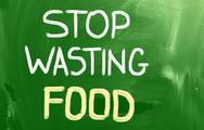 Stock Illustration of stop wasting food concept