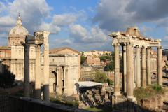 Rome & Vatican (Roman forum 2) Stock Photos
