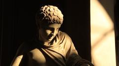 Stock Photo of Rome & Vatican (statue in the Vatican 1)
