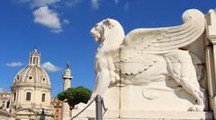 Rome & Vatican (Vittorio Emanuele II monument 3) - stock photo