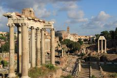 Rome & Vatican (Ancient Roman forum) 1 - stock photo