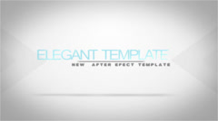 White Elegant Titles Unlimited Stock After Effects