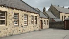 Edwardian era school set in early 1n early 1900s, england Stock Footage