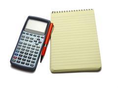 engineering calculator - stock photo