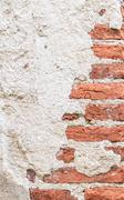 Old concrete brick wall background Stock Photos