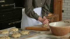 Edwardian bakery in beamish living museum, england Stock Footage