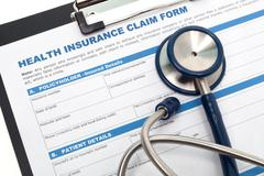 Medical and health insurance - stock photo