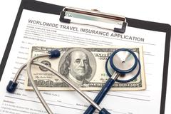 Worldwide health insurance - stock photo