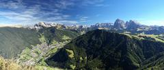 Dolomites panorama - stock photo