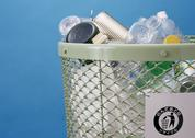 Stock Photo of Wastebasket
