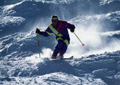 Ski - stock photo