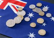 Stock Photo of Australian Dollar