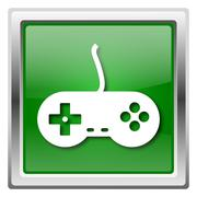 Gamepad icon Stock Illustration