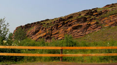 Khakassia chest panorama Stock Footage