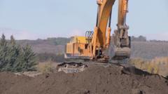 Excavator 1 Stock Footage