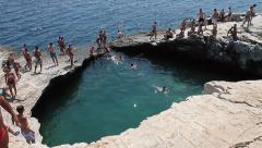 Giola, Natural Water Pool Stock Footage