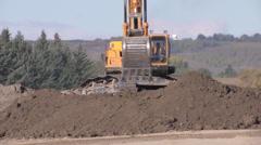 Excavator 3 Stock Footage