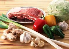 Stock Photo of Foodstuffs