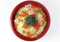 Chirashi-sushi Stock Photos