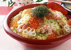 Stock Photo of Chirashi-sushi