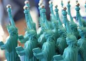 Stock Photo of Statue of Liberty Doll