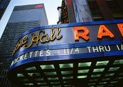 Stock Photo of Radio City Music Hall