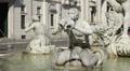 Fontana del Moro (Moor Fountain), Rome Footage