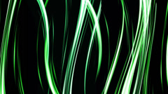 Green Strokes Stock Footage
