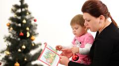 Christmas story Stock Footage