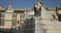 Lion shaped fountain, Rome HD Footage