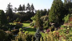 Vancouver Queen Elizabeth Park 02 Stock Footage