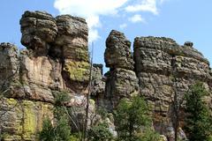 Minnesota Rock Formation CU Stock Photos