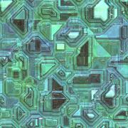 Alien SciFi Hull Seamless Texture - stock illustration