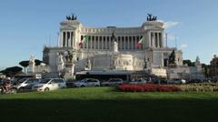 Vittoriano, Rome - stock footage