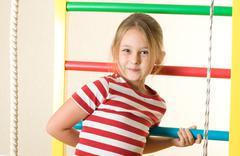 physical education - stock photo