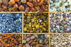 Semiprecious stones - stock photo