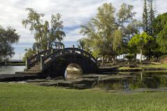 Garden Bridge - stock photo