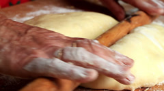 Stock Video Footage of Homemade dough
