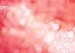 Snow crystal, CG - stock photo