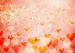Hearts background, CG Stock Photos