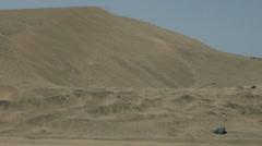 Dunes and windy Desert Sand in Maspolamas Stock Footage