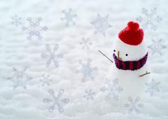 Snowman, CG Stock Photos