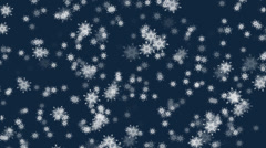 Snowfall Stock Footage