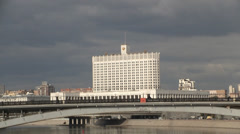 City of Moscow Stock Footage